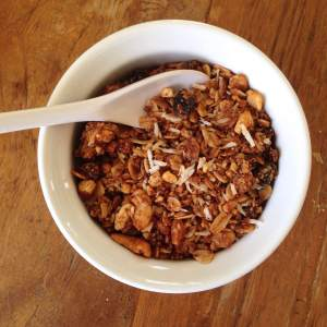 Coconut Orange Granola Recipe