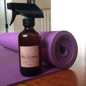 Yoga Mat Spray Recipe